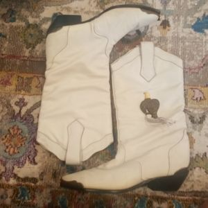 Vintage Marching Drill Team Boots